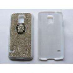 Husa Capac Diamond Samsung Galaxy S5 (G900) Light Skull