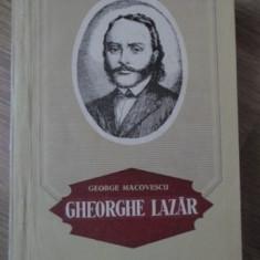 GHEORGHE LAZAR - GEORGE MACOVESCU