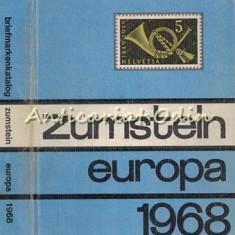 Europa Briefmarken-Katalog Zumstein 1968