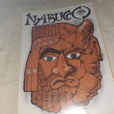"PROGRAM OPERA ROMANA BUCURESTI 2000 SPECTACOL ""NABUCCO"""