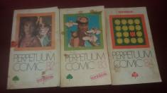 LOT 3 ALMANAH PERPETUUM COMIC 1982 1983 1984 foto