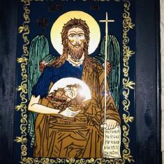 "icoana pe sticla- ""Sf.Ioan Botezătorul"""