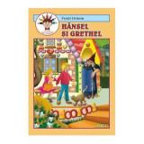 Hansel si Grethel (carte de colorat) | Fratii Grimm