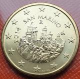 50 cents 2014 San Marino, unc, km#484, Europa