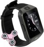 Smartwatch iUni DZ09 Plus, Camera 1.3MP, BT, 1.54 Inch, Negru + Spinner Cadou