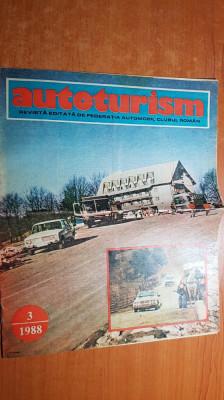 revista autoturism martie 1988-paris - dakar 1988 foto