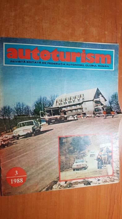 revista autoturism martie 1988-paris - dakar 1988