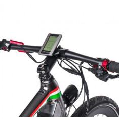 Bicicleta electrica cu cadru aluminiu ZT-85 RAPID (700C) TITANIUM