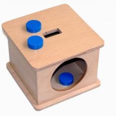 Caseta cu fise, Montessori