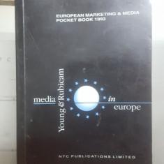 Media în Europa, Ediție de buzunar, European Marketing and Media, 1993
