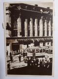 TIMISOARA - MAGAZINUL DE STAT - MASINA EPOCA - TRAMVAIE - ANIMATIE - ANUL 1950, Circulata, Fotografie