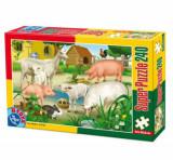 Cumpara ieftin Super puzzle Animale, 240 piese