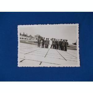 FOTOGRAFIE VECHE , GRUP DE MILITARI