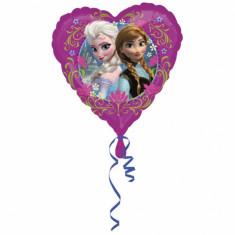 Balon folie inima, 43cm Frozen