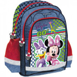 Ghiozdan scoala SunCity, 38 cm, model Minnie Mouse