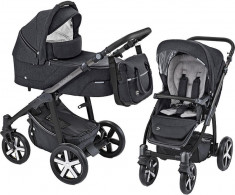Baby Design Husky carucior multifunctional + Winter Pack - 10 Black 2019 foto