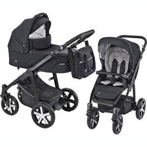 Baby Design Husky carucior multifunctional + Winter Pack - 10 Black 2019