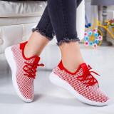 Pantofi sport Reselda rosii -rl