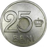 Romania, 25 bani 1921 aUNC_gaura 4 mm * cod 3