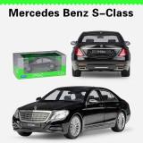 Macheta Mercedes Benz S-Class - Welly scara 1:24