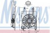Ventilator, radiator RENAULT MEGANE II (BM0/1, CM0/1) (2002 - 2011) NISSENS 85706