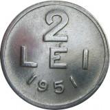 Romania, 2 lei 1951 * cod 14