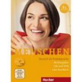Menschen B1 Medienpaket 3 Audio-CDs and 1 DVD - Julia Braun-Podeschwa, Charlotte Habersack, Angela Pude