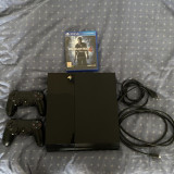 PS4 500GB + 2 Joystickuri + 2 Jocuri