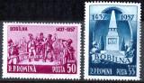 1957 LP445 serie 520 de ani de la Rascoala de la Bobilna MNH, Istorie, Nestampilat