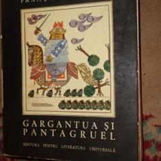 Gargantua si Pantagruel an 1967/ilustratii- Benedict Ganescu / 636pag- Rabelais