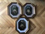 Tablou,pictura englezeasca in ulei pe panza,vaza cu flori, Altul