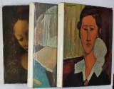 LA PEINTURE ITALIENNE , VOLUMI I - III , etudes critique de LIONELLO VENTURI , 1951 - 1952