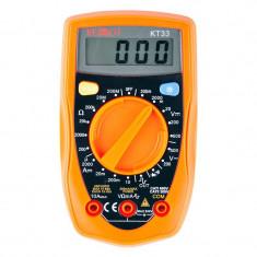 Multimetru digital KT33 Kemot, testare diode, generator semnal dreptunghiular