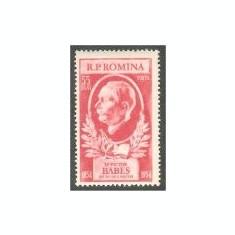 1954 Romania,LP 366-Centenar Victor Babes-MNH, Oameni, Nestampilat