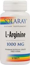 L - Arginine 1000mg Solaray Secom 30tb Cod: 17246 foto