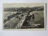 Carte postala foto Istanbul-Podul Galata,circulata 1927