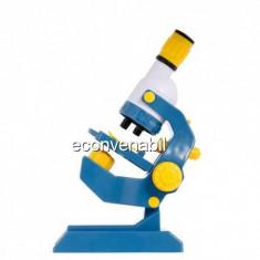 Microscop Copii, Marire 100x 400x 1200x, cu Lumina C2123