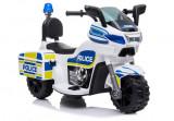 Cumpara ieftin Mini Motocicleta electrica Police Motorbike TR1912 STANDARD Alb