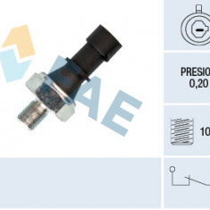 Senzor presiune ulei (0,2bar; 1 pin; negru) OPEL ASTRA H, ASTRA H GTC, CORSA D, MERIVA A, SIGNUM, VECTRA C, VECTRA C GTS, ZAFIRA B 1.7D 3.0D intre 200