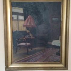 tablori pictate pe panza in ulei .