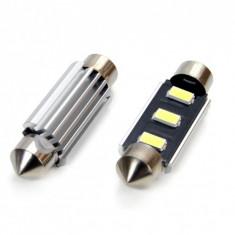 Set 2 Becuri LED CanBus 3SMD 5730 FESTOON 41 mm (C5W) 12V, Alb