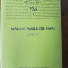 PSB nr 3 Sfantul Vasile cel Mare Epistole