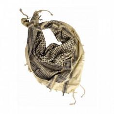 Esarfa Shemagh -negru-khaki- [Mil-Tec]