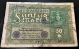 Bancnota istorica 50 MARCI - GERMANIA, anul 1919  *cod 472