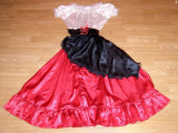 Costum carnaval serbare rochie dans flamenco pentru adulti marime S, Din imagine