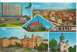 CPI B 11299 CARTE POSTALA - CLUJ. MOZAIC, Circulata, Fotografie