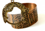 Medalion, pandant cu lupa - Jaguar - Leopard
