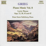 GRIEG : Piano Music Vol. 8 ( Lyric Pieces - CD )
