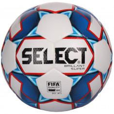 FB Brillant Super Minge fotbal alb-albastru n. 5
