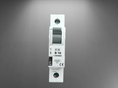 Siguranta automata curba B16,1p eti,Capacitate de rupere (kA) 4,5kA foto